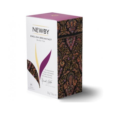 Newby Английский завтрак (25 пакетиков по 2 гр)