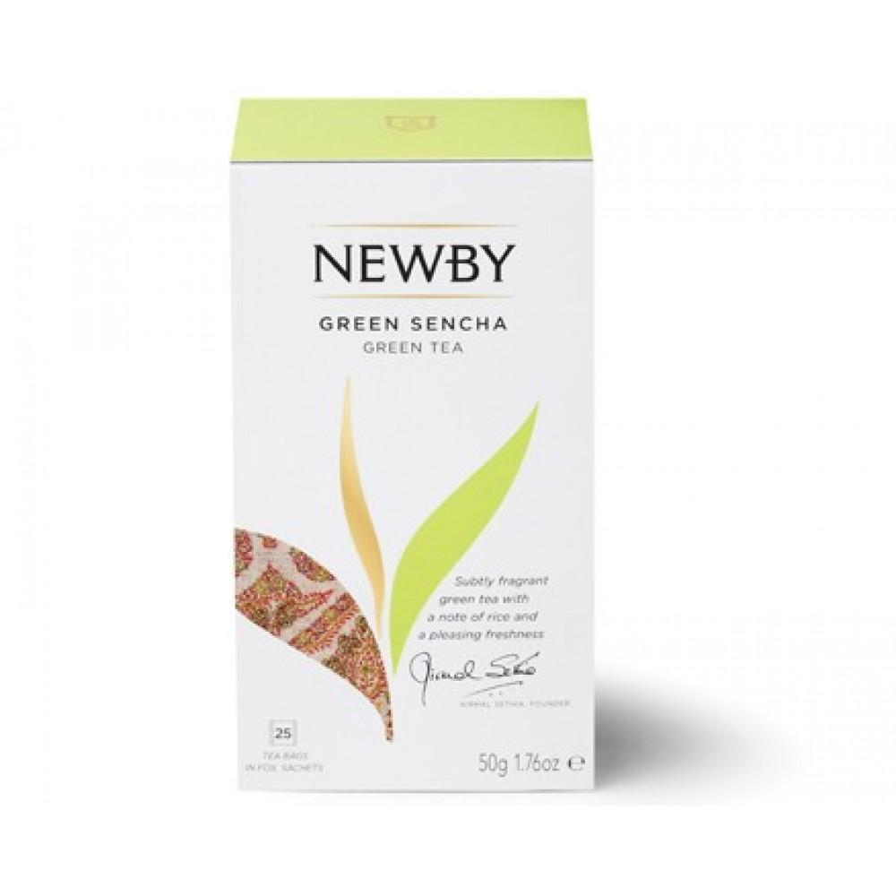 Newby Зеленая сенча (25 пакетиков по 2 гр)