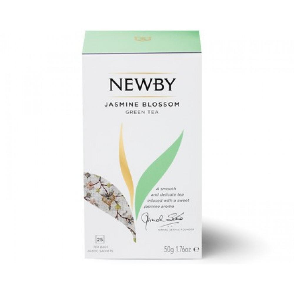 Newby Цветок жасмина (25 пакетиков по 2 гр)