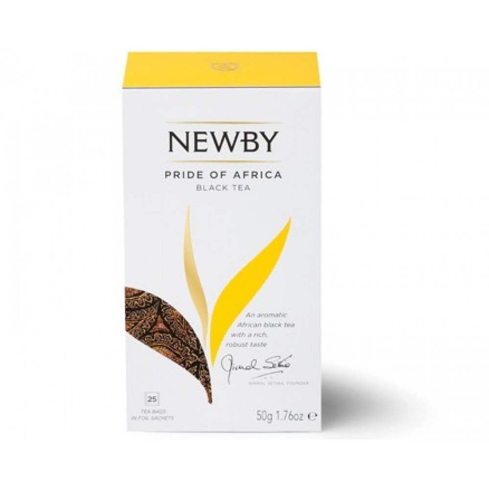 Newby «Африканская гордость» (25 пакетиков по 2 гр)