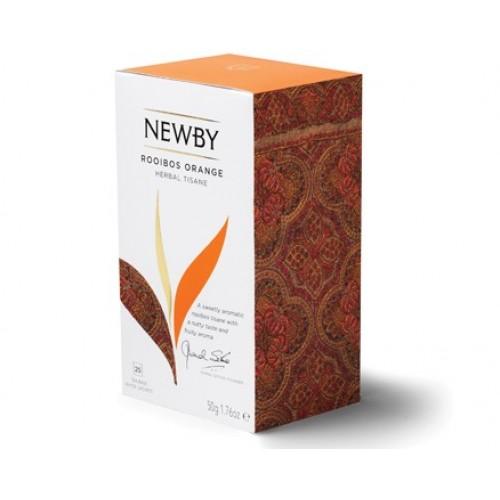 Newby Ройбос апельсин (25 пакетиков по 2 гр)
