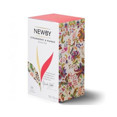 Newby Клубника и Манго (25 пакетиков по 2 гр)