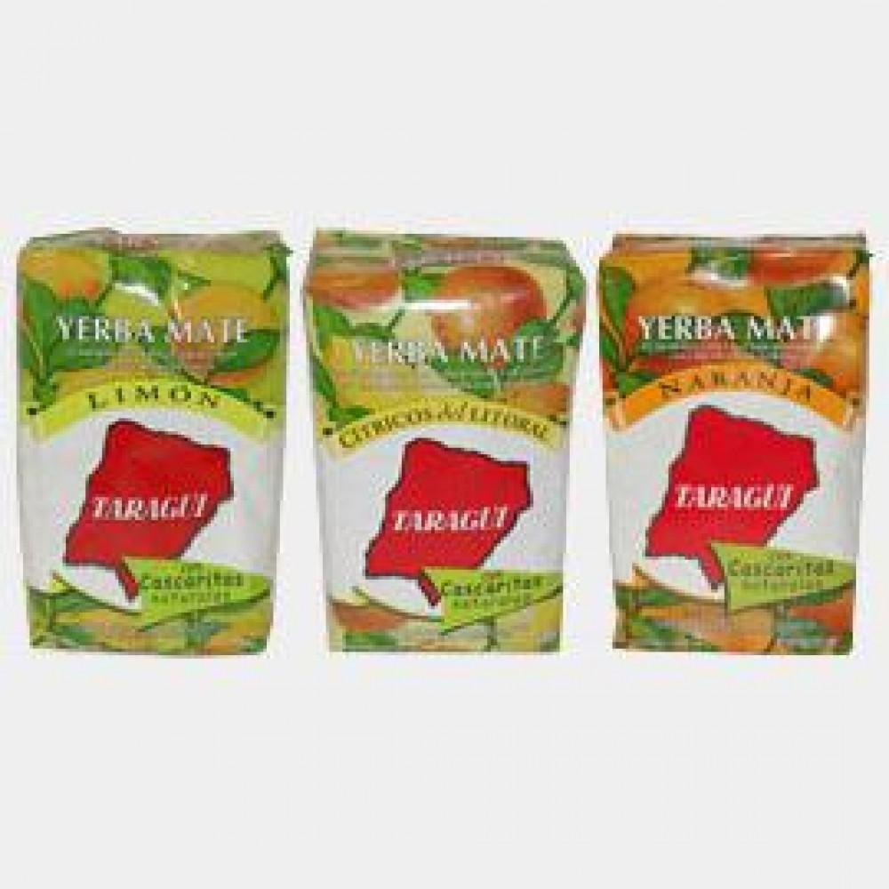 «Taragui» с добавками сухих корочек лимона, цитрусовых, апельсина, 500 гр.