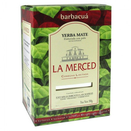 Mate La Merced Barbacua, 500 гр.