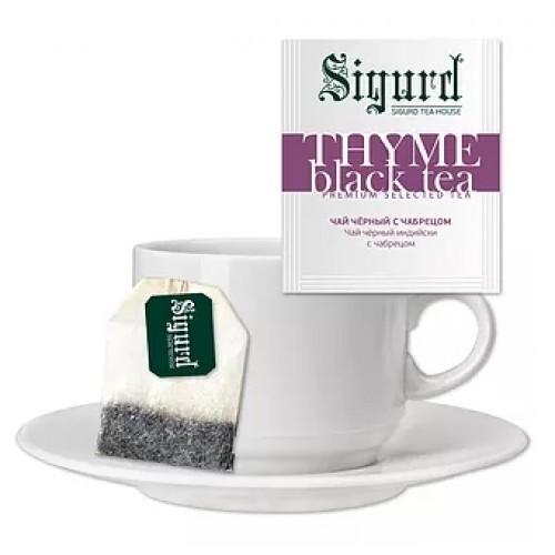 Чай чёрный THYME BLACK TEA (30 пакетиков по 2 гр)
